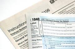 Filing Tax Royalty Free Stock Image