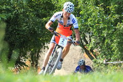 Filip Eberl - MTB cross country Stock Image