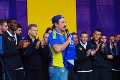 Filip Flisar and NK Maribor Stock Photo