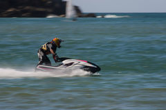 Filipa Nunes in Gran Prix of Jet Ski Royalty Free Stock Photo