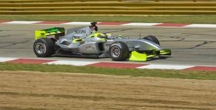 Filipe Albuquerque (équipe Portugal) à son Ferrari. Image stock