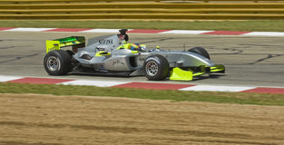 Filipe Albuquerque (equipe Portugal) em seu Ferrari. Imagem de Stock
