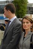 Filipe Burbon e princesa Deixar Foto de Stock