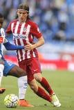 Filipe Luis Kasmirski d'Atletico Madrid Images libres de droits