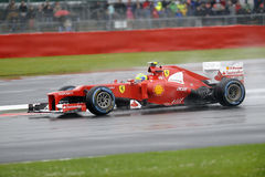 Filipe massa, ferrari F1 Royalty Free Stock Photos