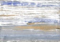 Filipińczyk srebra akwareli abstrakcjonistyczny tło Zdjęcia Stock