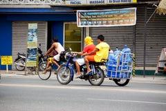 Filipijnse buurt Royalty-vrije Stock Afbeeldingen