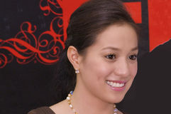 Filipina Actress Cristine Reyes. Picture of a Filipina actress, Cristine Reyes Stock Photography