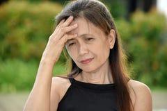 Filipina Adult Female And Dementia immagini stock