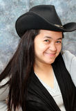 Filipina Cowgirl Stock Image