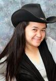 Filipina Cowgirl stock image