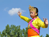 Filipina Dancer Stock Photo