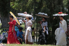 Filipina Fashion Royalty Free Stock Image