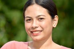 Filipina Female de sourire photo libre de droits