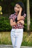 Filipina Female grazioso immagini stock