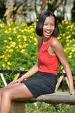 Filipina Female And Laughter fotos de stock