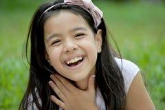 Filipina Female And Laughter novo imagens de stock royalty free