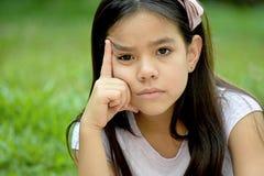 Filipina Girl Deciding photos libres de droits
