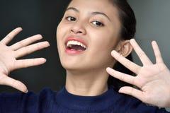 Filipina Girl Youth étonné photo stock