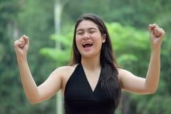 Filipina Person novo forte fotografia de stock