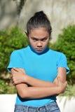 Filipina Person teimoso imagens de stock
