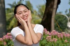 Filipina Woman grazioso immagini stock