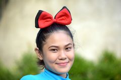 Filipina Woman And Happiness jovem imagens de stock royalty free