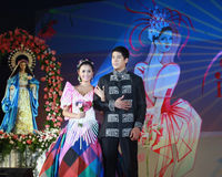 Filipinaaktris royaltyfria bilder