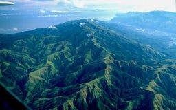 Filipinas: Antena del montaña-paisaje del ` s de Palawan foto de archivo libre de regalías