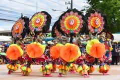 Filipinas têm a dança do divertimento Foto de Stock