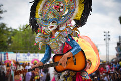 Filipinas têm a dança do divertimento Foto de Stock Royalty Free