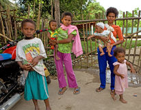 Filipino Aeta people Stock Images