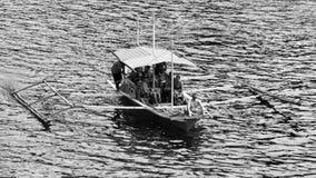 Filipino boat in the sea, El Nido, Philippines Stock Image