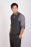 Filipino businessman Stock Photo