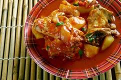 Filipino Chicken Asado Stock Images