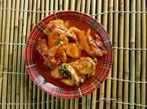 Filipino Chicken Asado Royalty Free Stock Images