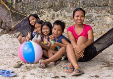 Philippines - Five Children Royalty Free Stock Images
