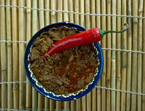 Filipino Chocolate Meat Dinuguan Stock Image