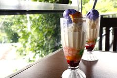 """Free Filipino Cold Snack Food Called """"Halo Halo Stock Images - 153843594"""