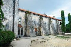 filipino della chiesa vecchio immagine stock libera da diritti