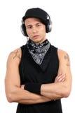 Filipino DJ immagini stock