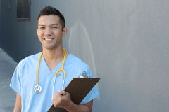 Filipino healthcare professional Stock Images