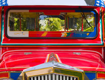 Filipino Jeepney Royalty Free Stock Photos