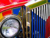 Filipino Jeepney Royalty Free Stock Photo
