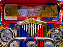 Filipino Jeepney Royalty Free Stock Photography