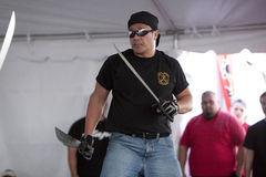 Filipino Martial Arts Demo Stock Image