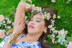 Filipino model Stock Photography