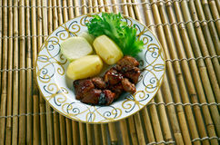 Filipino  Pork Adobo Royalty Free Stock Photo