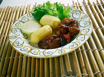 Filipino  Pork Adobo Royalty Free Stock Photography