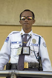 Philippines - Security Guard Royalty Free Stock Photography